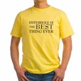 <h5>Hyperbole T Shirt</h5><p>Hyperbole T Shirt</p>