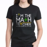 <h5>I&#039;m The Math Teacher T Shirt</h5><p>I&#039;m The Math Teacher T Shirt</p>