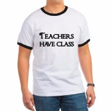 <h5>Teachers Have Class Ringer T Shirt</h5><p>Teachers Have Class Ringer T Shirt</p>