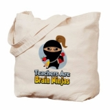 <h5>Teacher Are Brain Ninjas Tote</h5><p>Teacher Are Brain Ninjas Tote</p>