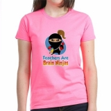 <h5>Teachers Are Brain Ninjas T Shirt Pink</h5><p>Teachers Are Brain Ninjas T Shirt Pink</p>