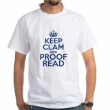 <h5>Keep Calm and Proofread T Shirt</h5><p>Keep Calm and Proofread T Shirt</p>