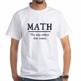 <h5>Math - The Only Subject That Counts T Shirt</h5><p>Math - The Only Subject That Counts T Shirt</p>