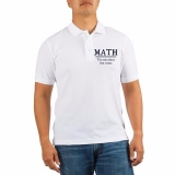 <h5>Math - The Only Subject That Counts Golf Shirt</h5><p>Math - The Only Subject That Counts Golf Shirt</p>