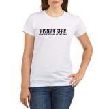 <h5>History Geek T Shirt</h5><p>History Geek T Shirt. I see the future in the past.</p>