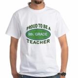 <h5>Proud To Be A 8th Grade Teacher T Shirt</h5>