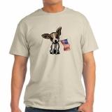 <h5>Chihuahua Holding Flag T Shirt</h5><p>Chihuahua Holding Flag T Shirt</p>