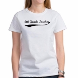 <h5>6th Grade Teacher T Shirt</h5><p>6th Grade Teacher T Shirt</p>