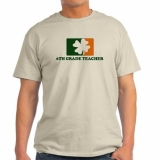 <h5>6th Grade Irish Clove Teacher Shirt</h5><p>6th Grade Irish Clove Teacher Shirt</p>