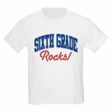 <h5>Sixth Grade Rocks Kids T Shirt</h5><p>Sixth Grade Rocks T Shirt</p>