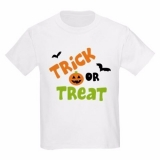 <h5>Trick or Treat Kids T Shirt</h5><p>Trick or Treat Kids T Shirt</p>