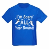 <h5>I&#039;m Scary All Year Round Kids Tee</h5><p>I&#039;m Scary All Year Round Kids Tee</p>