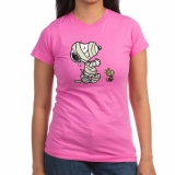 <h5>Snoopy Woodstock Mummy Tee Pink</h5><p>Snoopy Woodstock Mummy Tee Pink</p>