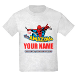 <h5>Amazing Spiderman Kids Personalized Tee</h5><p>Amazing Spiderman Kids Personalized Tee</p>