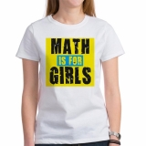 <h5>Math Is For Girls Tee</h5><p>Math Is For Girls Tee</p>