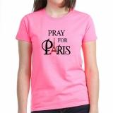 <h5>Pray for Paris Pink Tee</h5><p>Pray for Paris Pink Tee</p>