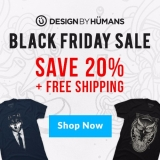 <h5>Design By Humans Black Friday Sale</h5><p>Design By Humans Black Friday Sale</p>